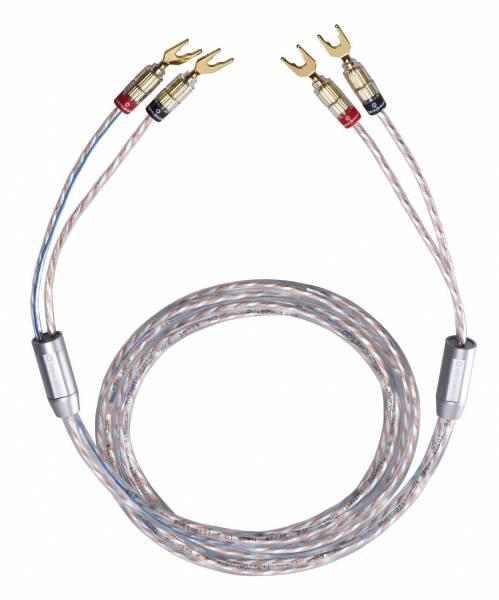 Oehlbach Twin Mix One mit Kabelschuh - 2 x 2,0 m