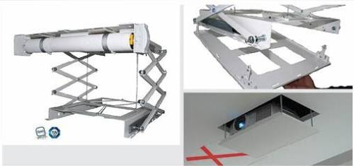 PeTa Deckenlift ultra flach, Hub 800 mm