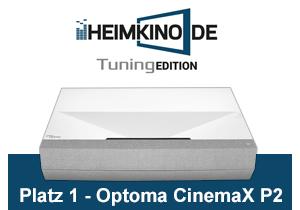 Optoma CinemaX P2 Testsieger kaufen