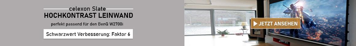 BenQ W2700i Slate Kontrastleinwand Tipp