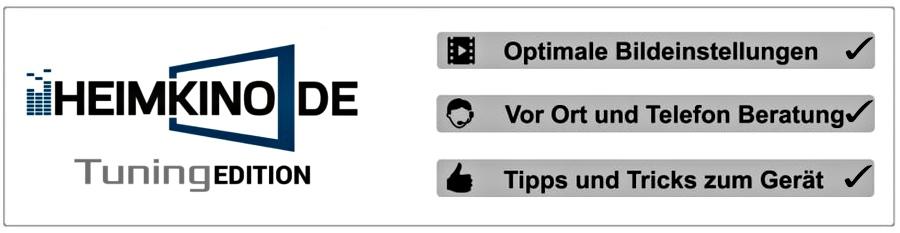 Ideale Bildeinstellungen Heimkino.de Tuning Edition