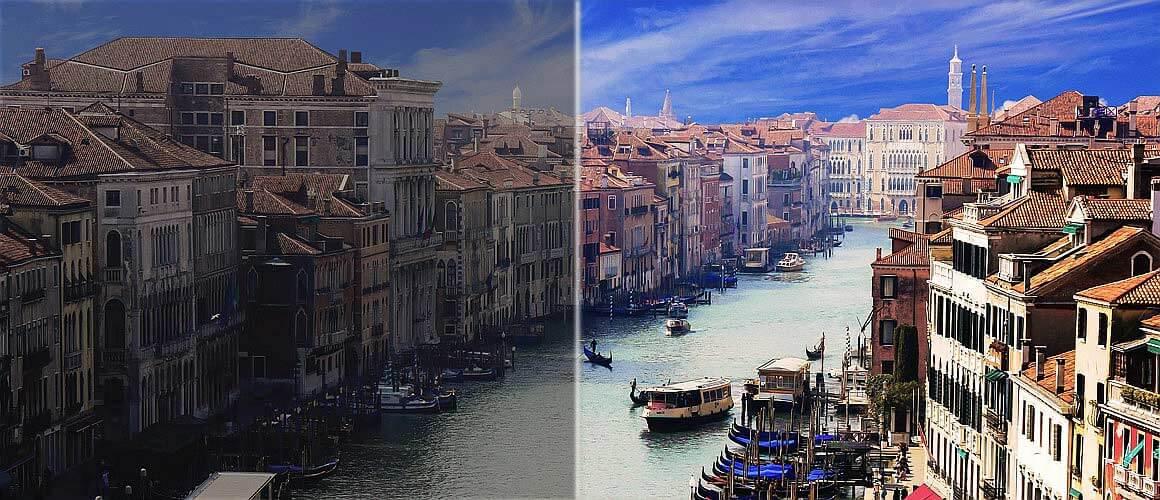 HDR Prinzip bei Foto und HDR Foto Nachbearbeitung