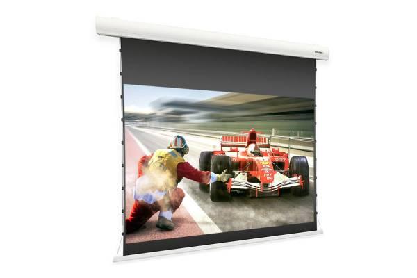celexon HomeCinema Motorleinwand Tension 199 x 112 cm, 90 - Dynamic Slate ALR
