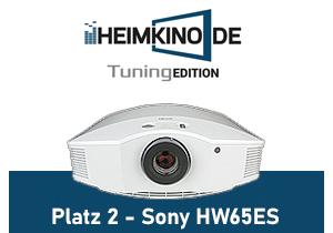 Sony HW65ES FullHD Beamer Testsieger Weiss