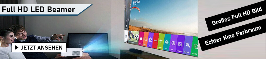 die besten Full HD LED Beamer