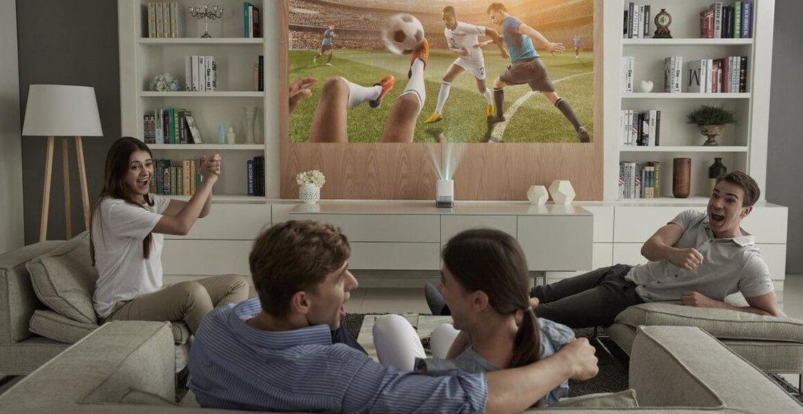 LG Allegro 2 Heimkino Streaming Beamer