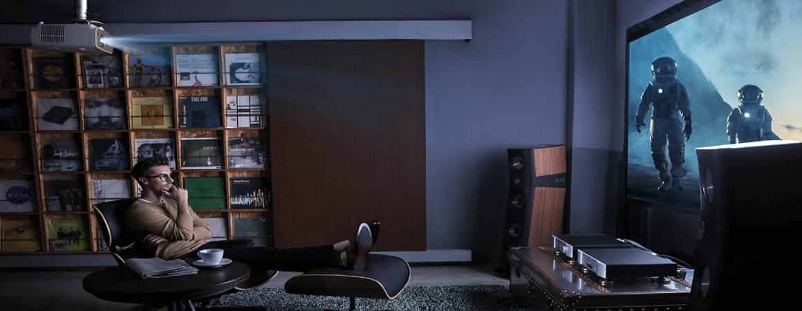 Benq W2700 Beamer Installation