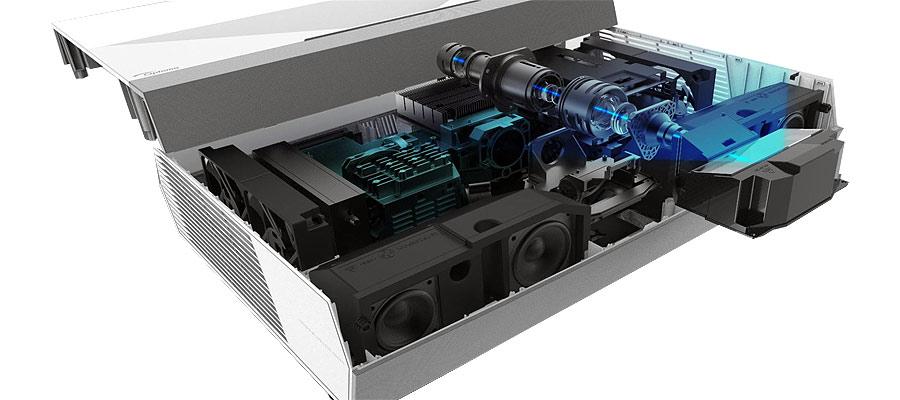 Laser Phosphor Aufbau Laser TV