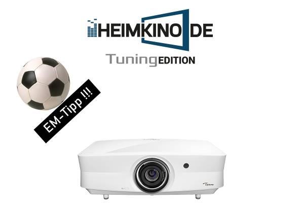 Optoma UHZ65LV - 4K HDR Laser Beamer | HEIMKINO.DE Tuning Edition