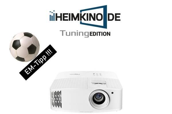 Optoma UHD38 - 4K HDR Beamer | HEIMKINO.DE Tuning Edition
