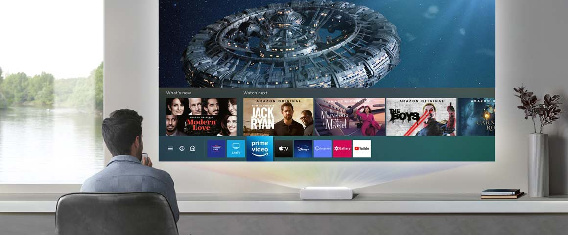 Samsung The Premiere LSP7T Streaming Apps