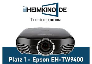 Epson TW9400 Testsieger 4K Beamer