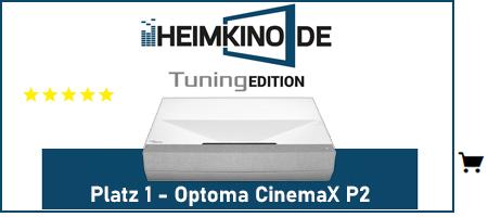 Optoma CinemaX P2 Laser TV Testsieger kaufen