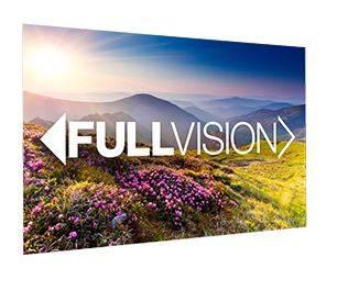 Projecta Rahmenleinwand FullVision, 350 x 197 cm, 16:9, mattweiss