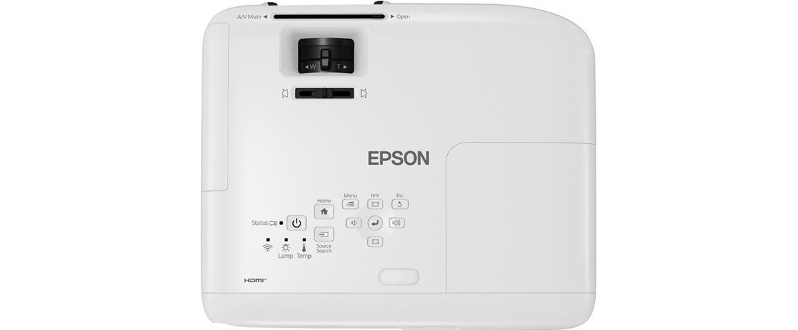 Epson TW750 Bedienung Steuerung