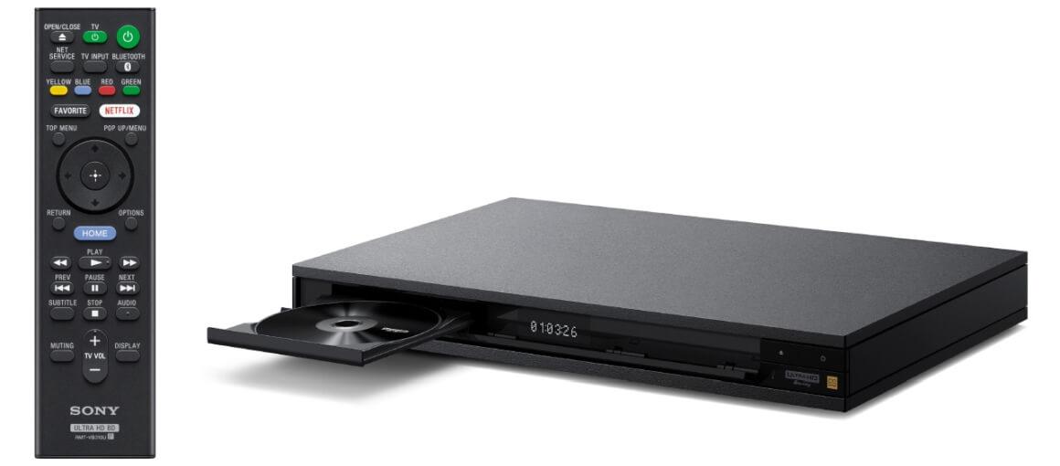 Sony_UBP-X1100ES_Verarbeitung_Fernbedienung