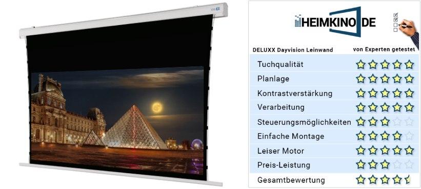 Hochkontrastleinwand Dayvision DELUXX