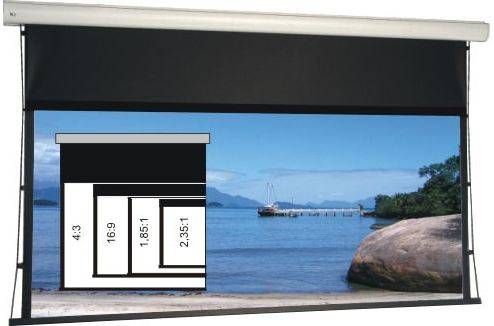 WS-S-4-FormatN 130 Zoll bei 4:3 264x199 cm Home Vision Be/BL
