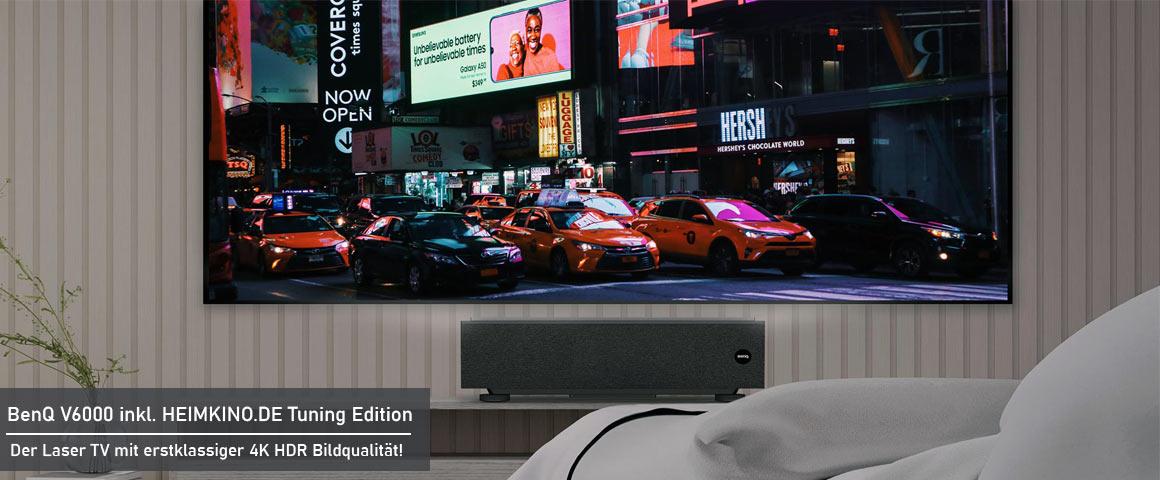 BenQ V6050 Laser TV Installation