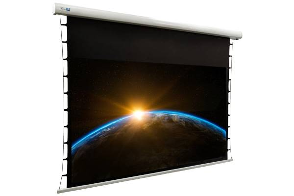 "DELUXX Cinema Motorleinwand Tension 265 x 149cm, 120"" - DARKVISION"