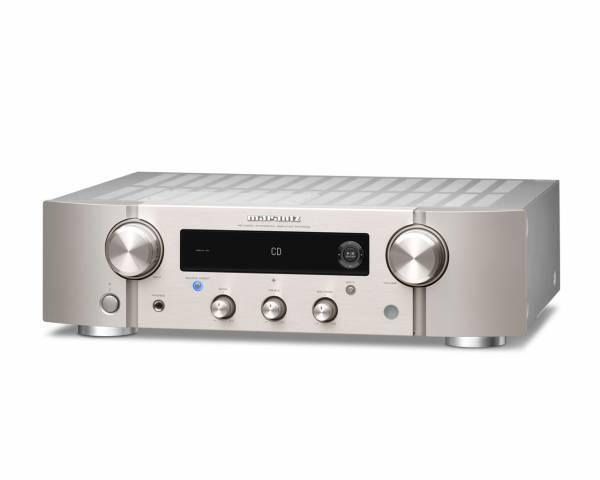 Marantz PM7000N Stereo-Vollverstärker mit HEOS Built-in, silber