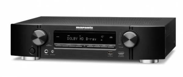 Marantz NR1510 kompakter 5.2-Kanal-AV-Receiver mit Musikstreaming, schwarz