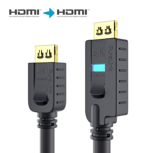 OneAV HDMI Kabel Aktiv 18Gbps - PureInstall 15,0m
