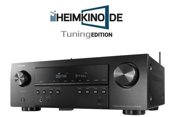 Denon AVR-S650H 5.2-Kanal AV-Receiver mit Online-Musikstreaming und Sprachsteuerung