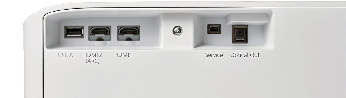 Epson LS300W Laser TV Anschluss