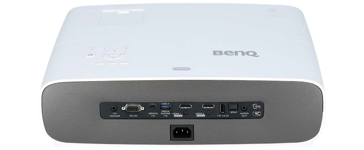 BenQ W2700i hinten Anschluss